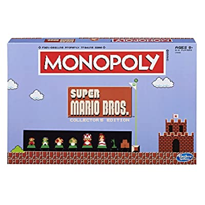 Monopoly: Super Mario Bros Collector's Edition Board Game ( Exclusive): Game: Toys & Games