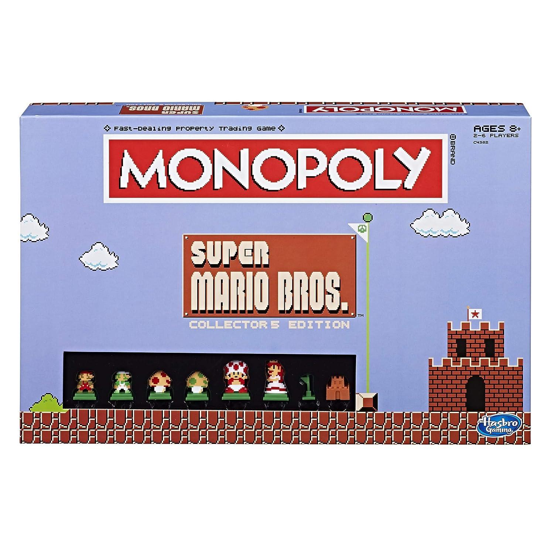 Super Mario Collector's Bros Monopoly Collector's Mario Edition Board Game 11d6ab
