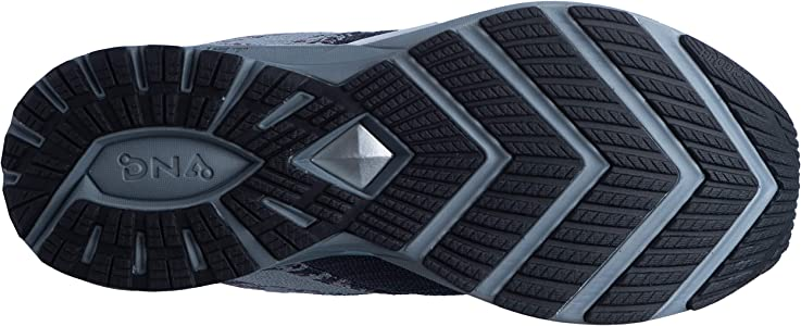 Brooks Womens Ricochet - Black/Grey/Arctic Dusk - B - 7.0: Amazon.es: Deportes y aire libre