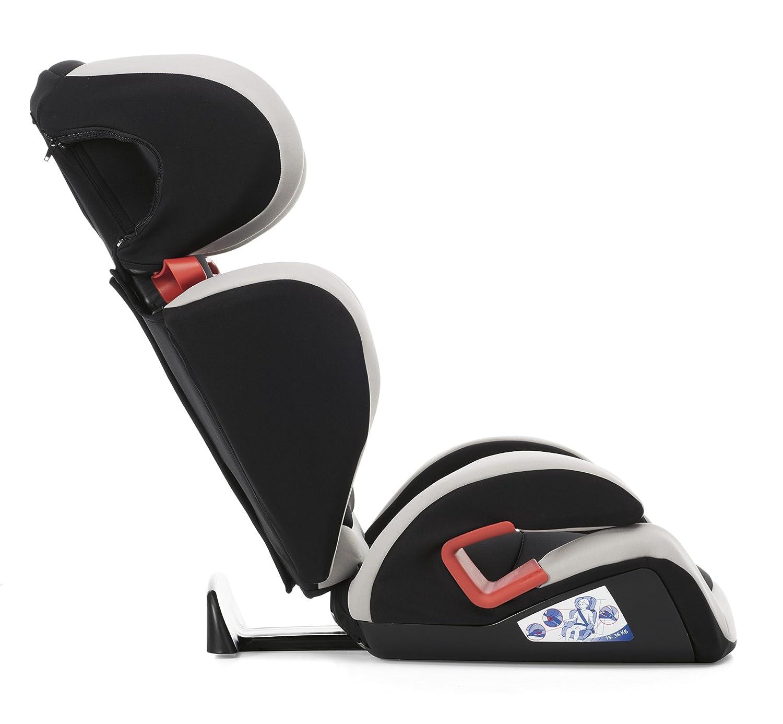 Grigio Chicco Elegance Key Seggiolino Auto 15-36 kg Gruppo 2//3 per Bambini da 3 ai 10 Anni Reclinabile