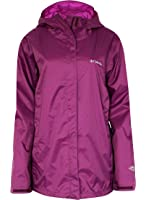 COLUMBIA women's plus MARYS PEAK II hooded RAIN JACKET