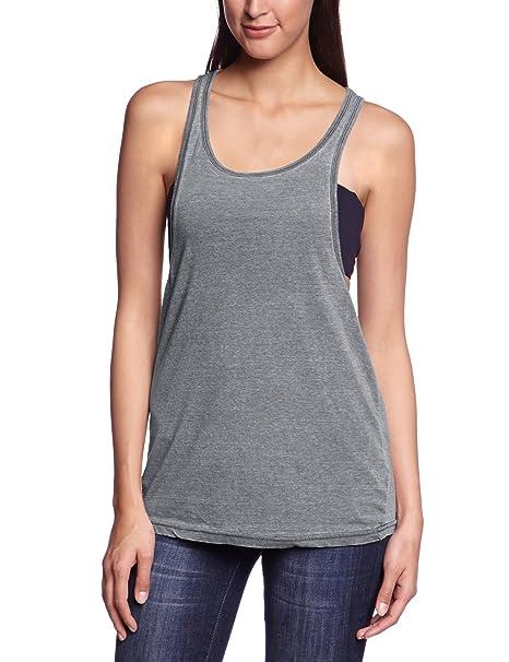 am billigsten große Vielfalt Stile Temperament Schuhe Urban Classics Damen Sport T-Shirt Ladies Loose Burnout Tanktop