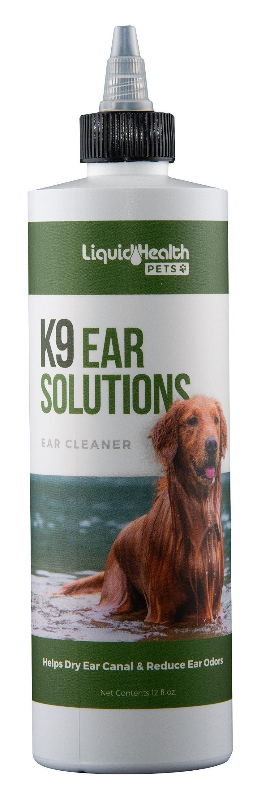 Liquid Health For Animals K9 Ear Solutions 12 oz Liquid by Liquid Health (Image #1)