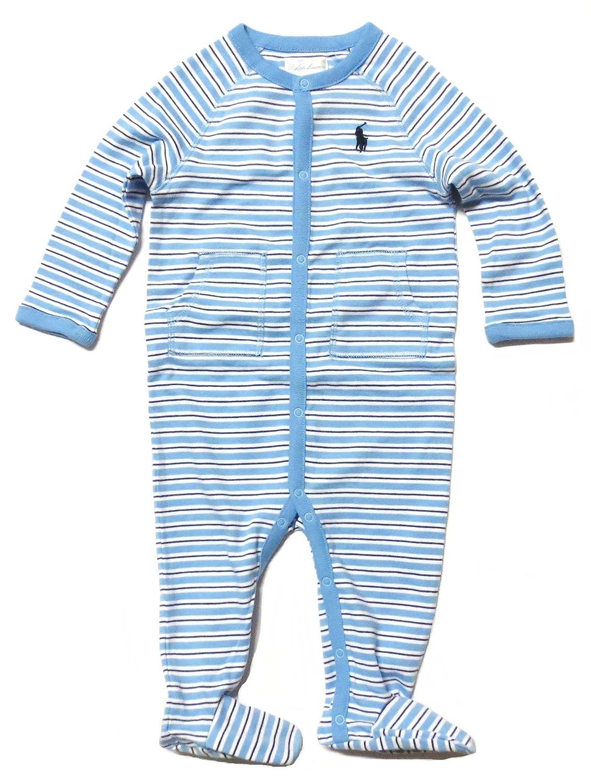 5de78e68 Amazon.com: RALPH LAUREN Baby Boys Long Sleeve Coveralls 1 ...