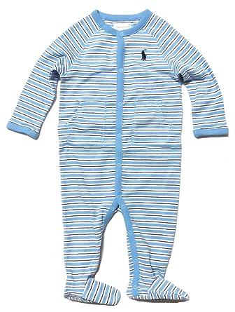 f28ed61c1115 Amazon.com  RALPH LAUREN Baby Boys Long Sleeve Coveralls 1 Piece ...