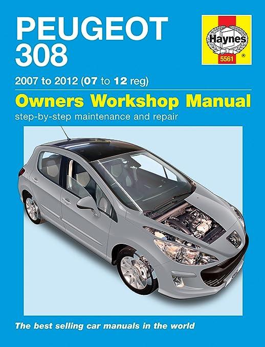 Peugeot 308 1.4 1.6 VTi THP 1.6 HDil 2007-2012 Manual: Amazon.co.uk ...