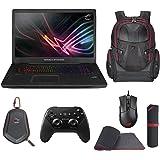 "ASUS ROG STRIX GL702VI-WB74 (i7-7700HQ, 16GB RAM, 256GB NVMe SSD + 1TB HDD, NVIDIA GTX 1080 8GB, 17.3"" Full HD 120Hz G-Sync, Windows 10) Gaming Notebook"