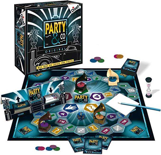 Diset 10044 - Party Original 20 Aniversario: Amazon.es: Juguetes y ...