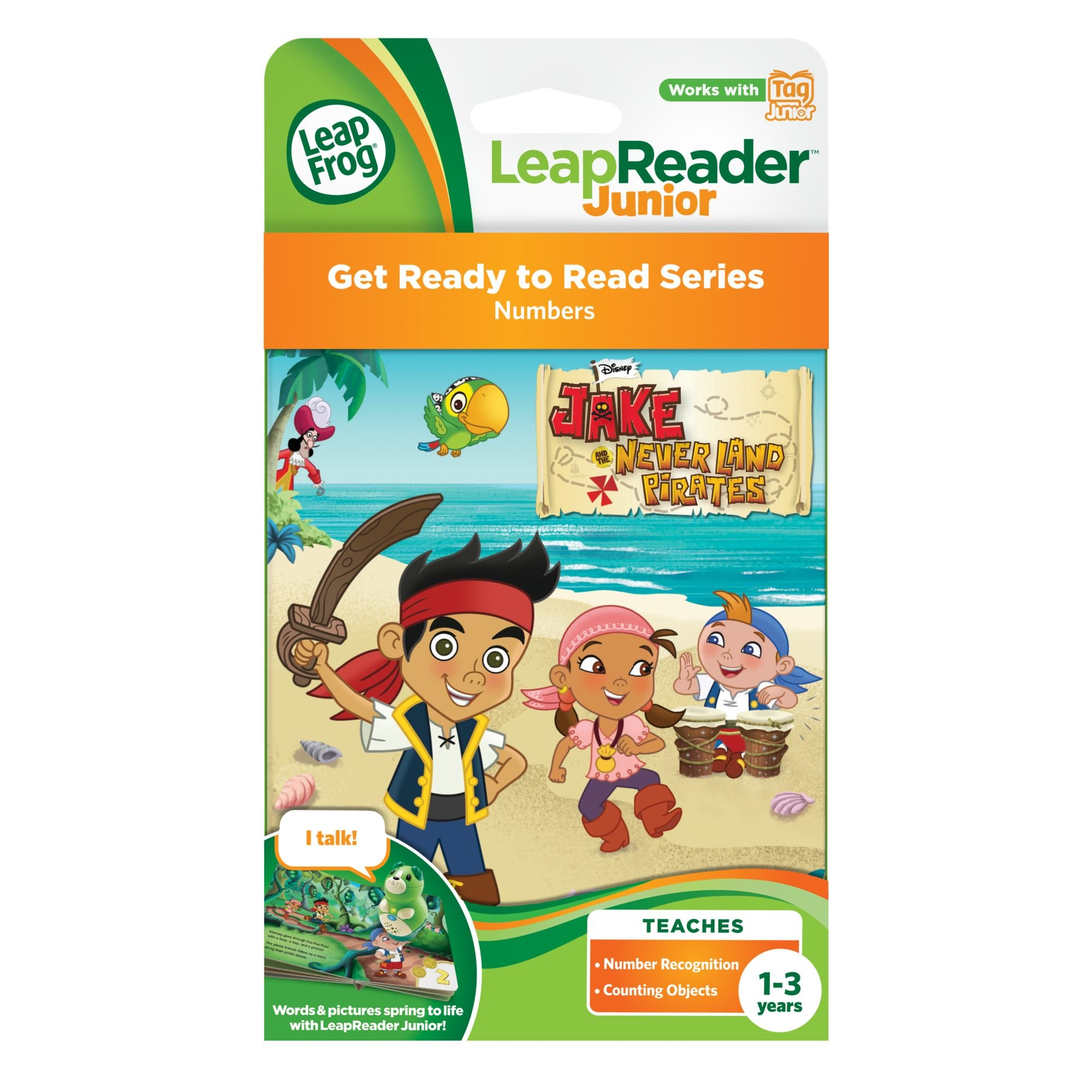 LeapFrog LeapReader Junior Book: Disney's Jake and the Never Land Pirates (works with Tag Junior) by LeapFrog (Image #3)