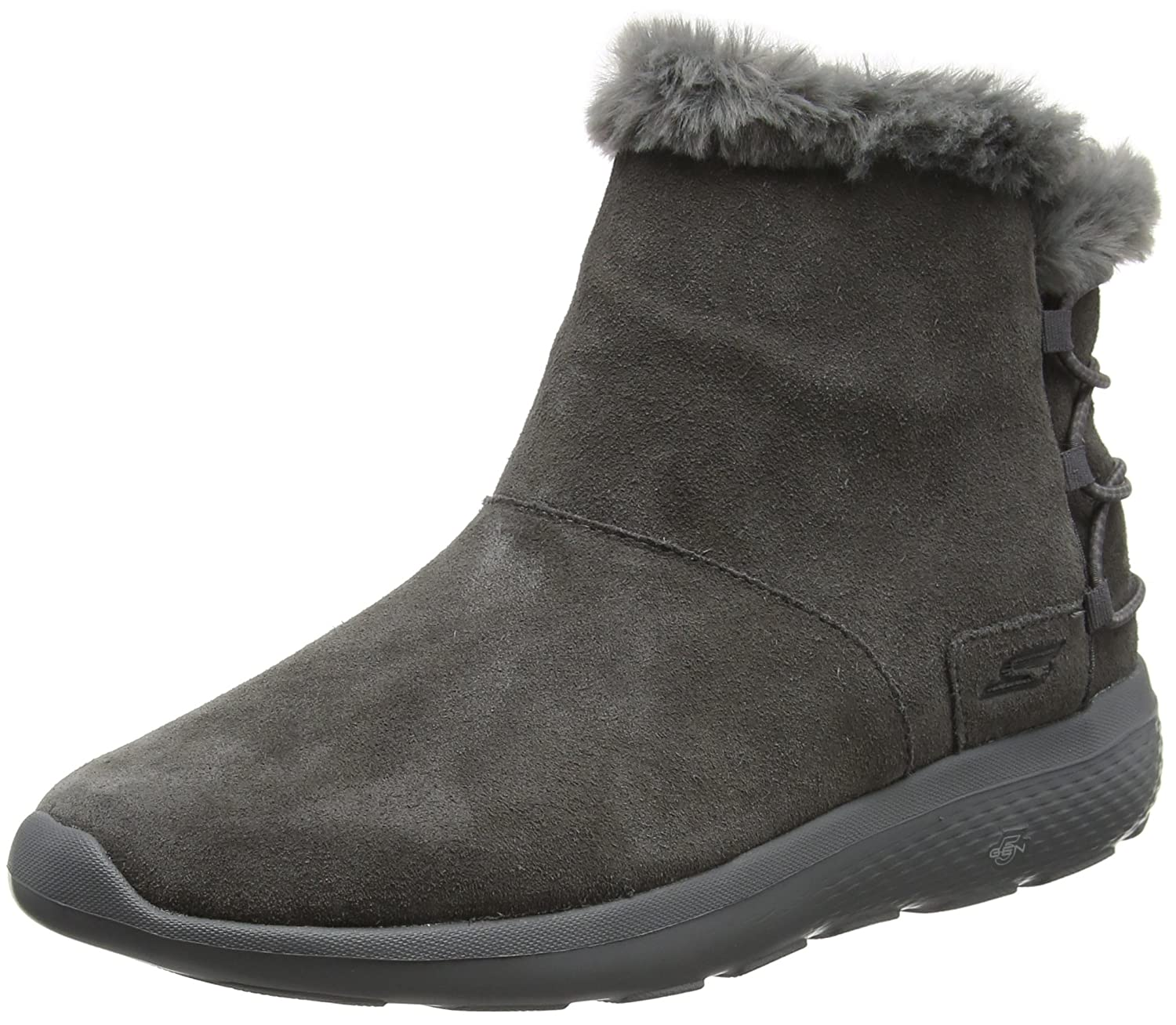 Skechers Damen on-The-Go City 2 Stiefel  39 EU|Grau (Charcoal)