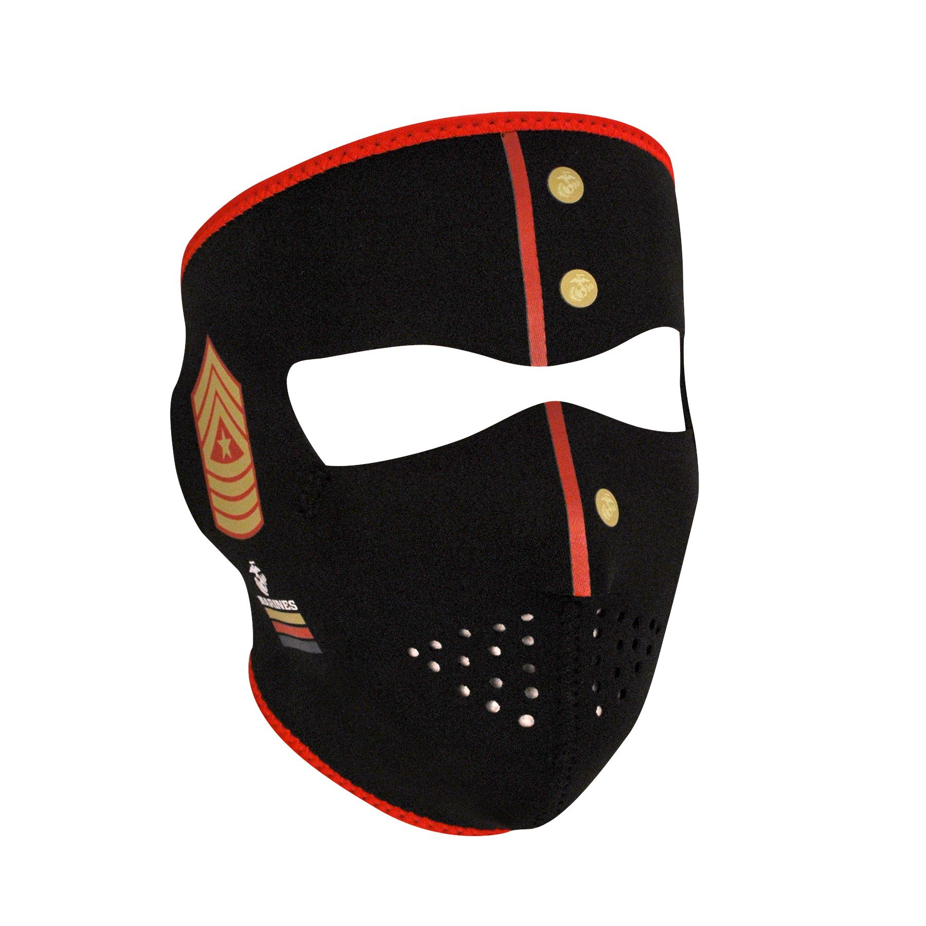 Zan Headgear WNFM801, Full Mask, Neoprene, USMC, Marines Uniform