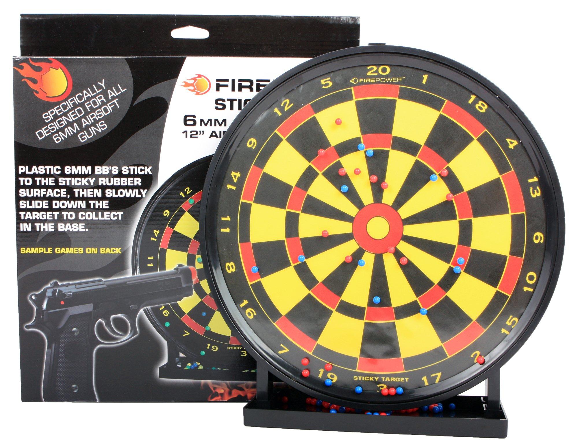 Soft Air Firepower 12-Inch x 12-Inch Dartboard Sticky Target