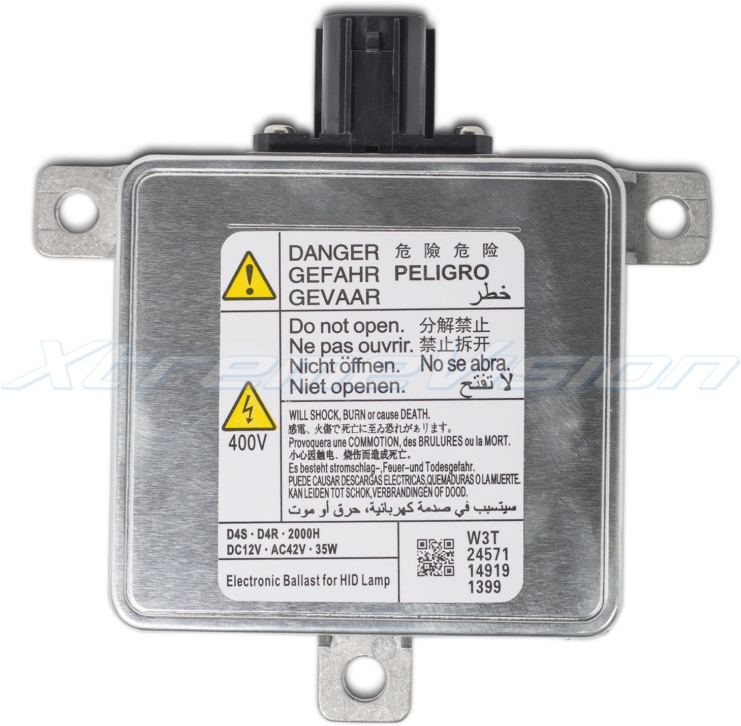 XtremeVision OEM Replacement Ballast Compatible with AL 1307329293 Xenon HID Ballast Single - 1 PCS - 2 Year Warranty D1S//D1R