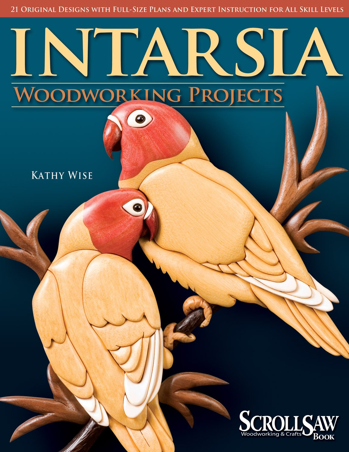 Intarsia Woodworking Projects Full Size Instruction product image