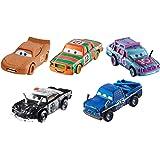 Disney Pixar Cars 3 Diecast Collection Vehicles, 5-Pack Bundle 5 Pack #1 Multi Color