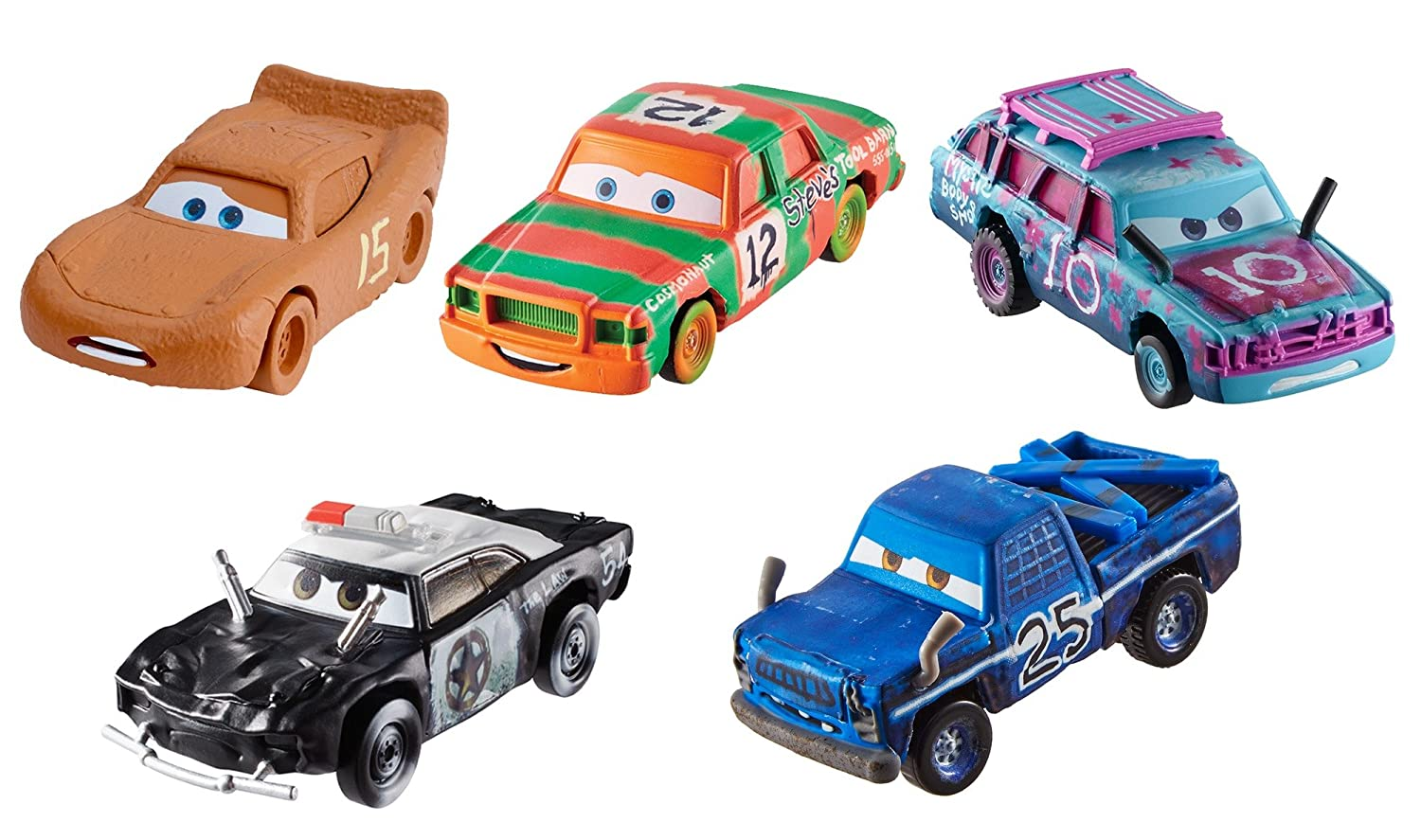 Disney/Pixar Cars Die-cast Vehicles, 5 Pack #2 Mattel FTX80