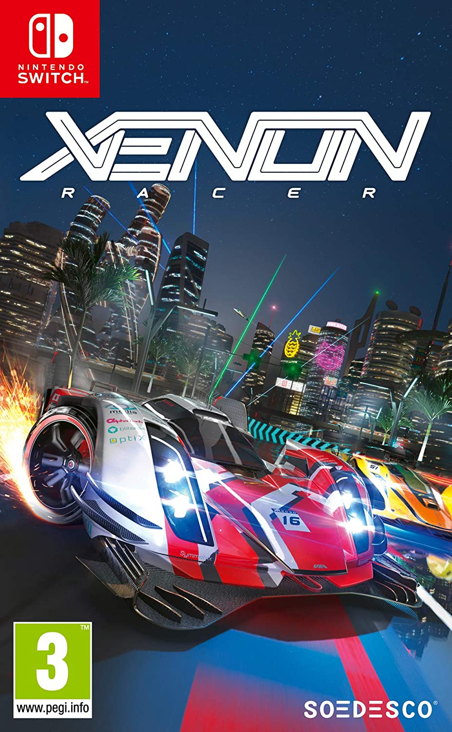 Xenon Racer - Nintendo Switch [Importación francesa]: Amazon.es ...