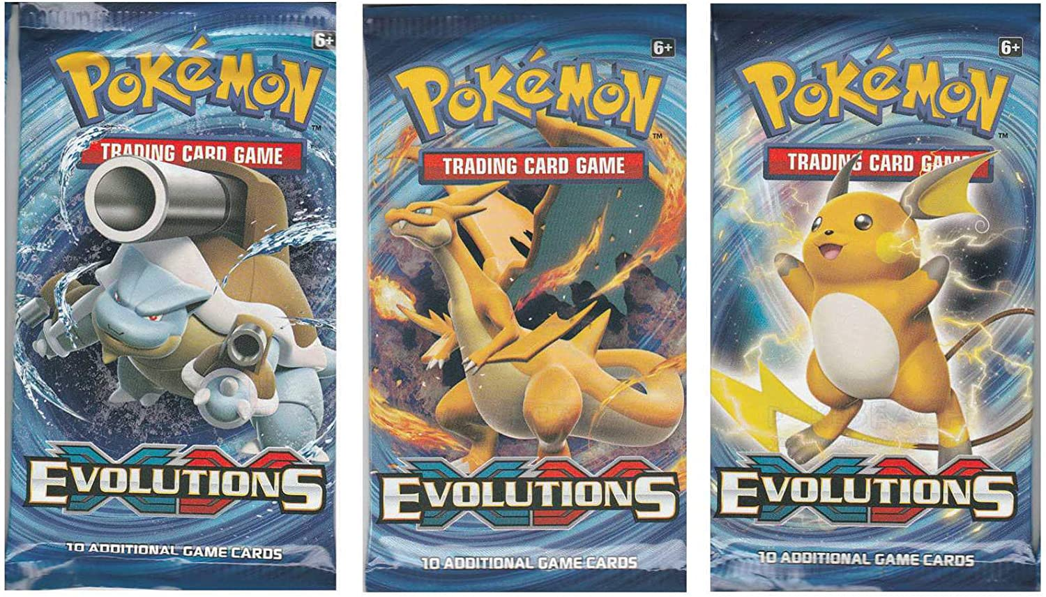 Pokemon XY Evolutions 4 Sealed Booster Packs XY Trading cards