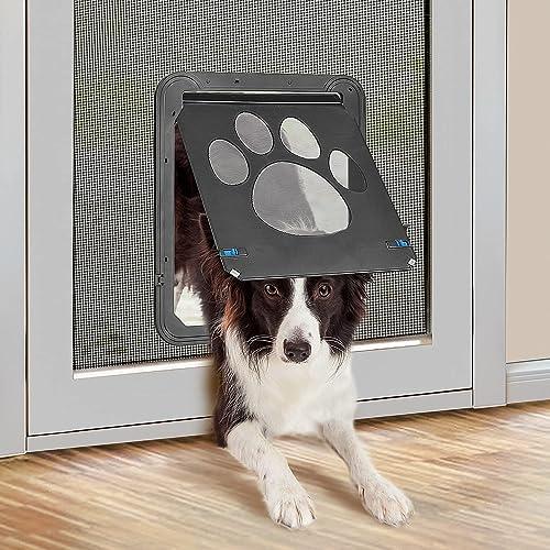 PETLESO-Dog-Door-Screen-Lockable-Pet-Door-for-Screen-Pet-Door