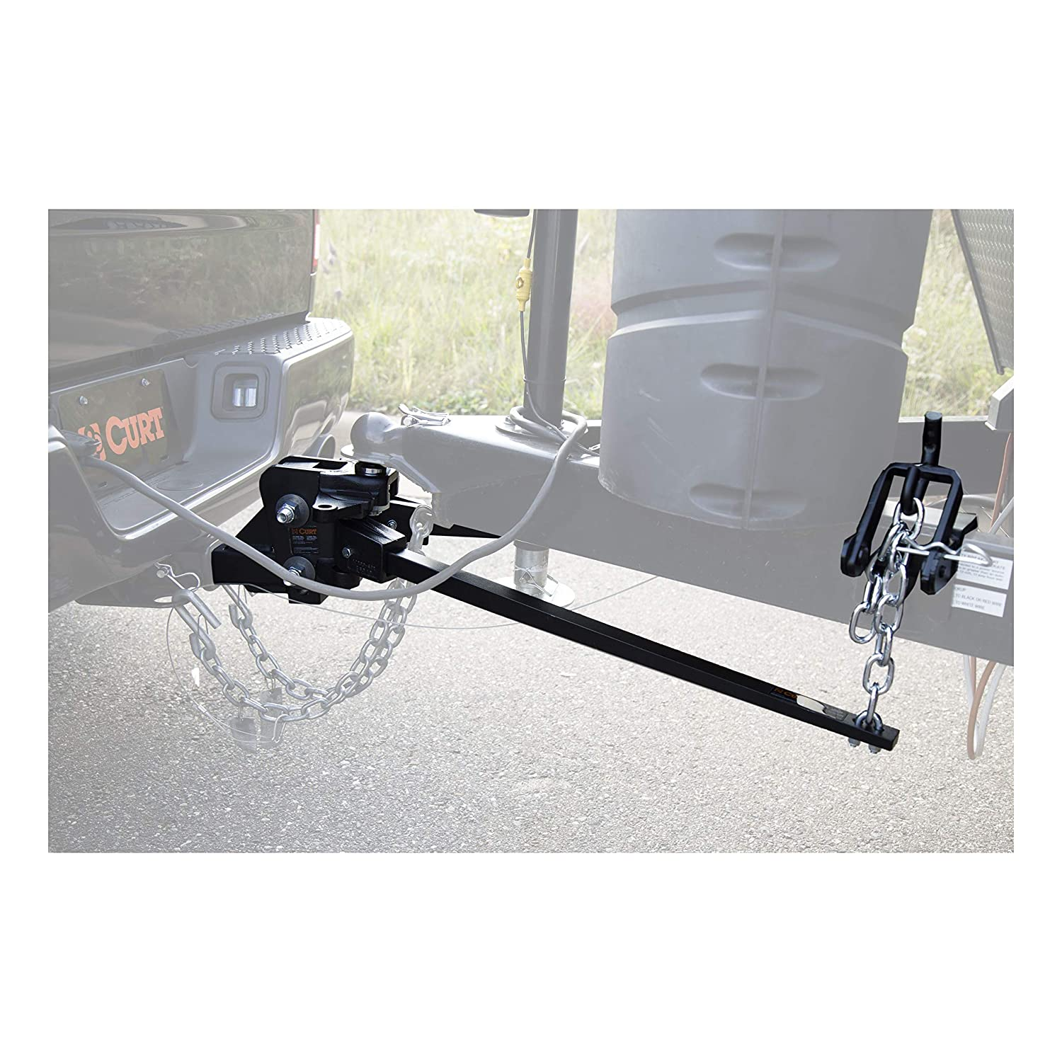 Curt Manufacturing 17333 Short Trunnion Bar Weight Distribution Hitch