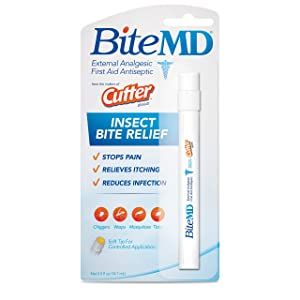Cutter Bite MD Insect Bite Relief, Stick, 0.5-Ounce
