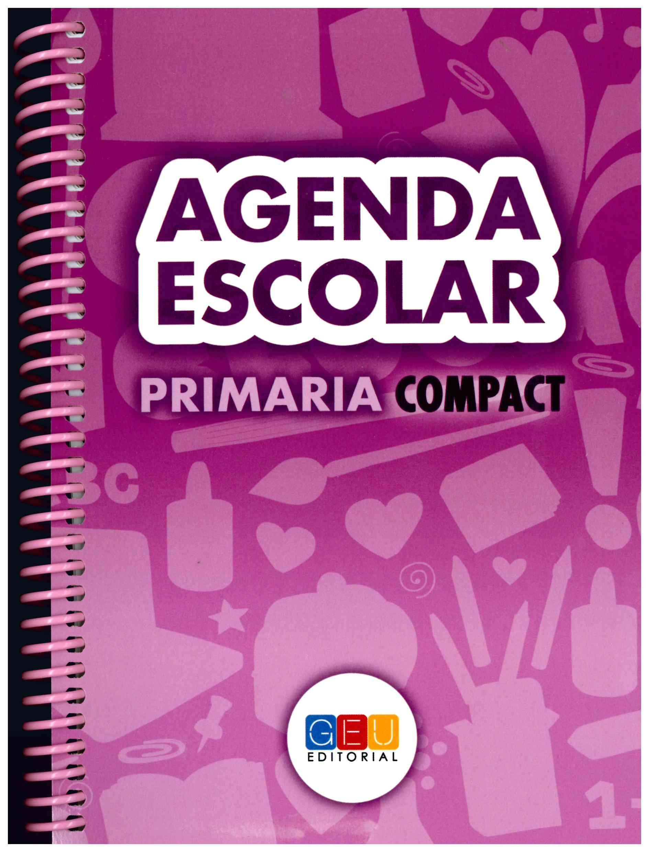 Agenda Escolar 2016/2017. Primaria Compact Espiral ...