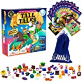 SCS Direct, Tall Tales Story Telling Board Game - The Educational Family Game of Infinite Storytelling - 5 Ways to Play…