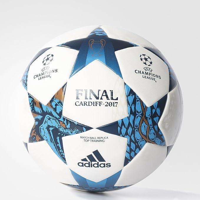 adidas Top Balón Final Cardiff 2017, Hombre, Blanco, 5: Amazon.es ...