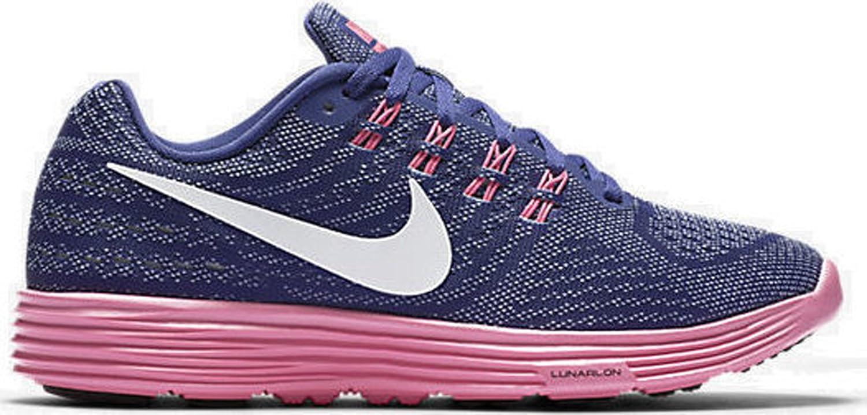sports shoes 215e8 206b3 Amazon.com   Nike LunarTempo 2 Dark Purple Black Pink mens 10.5   Athletic