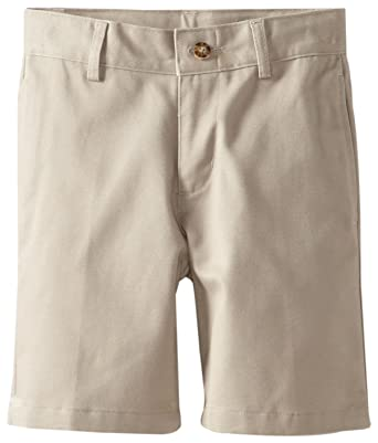 Amazon.com: Dockers Little Boys' Uniform 2-7 Flat Front Short ...
