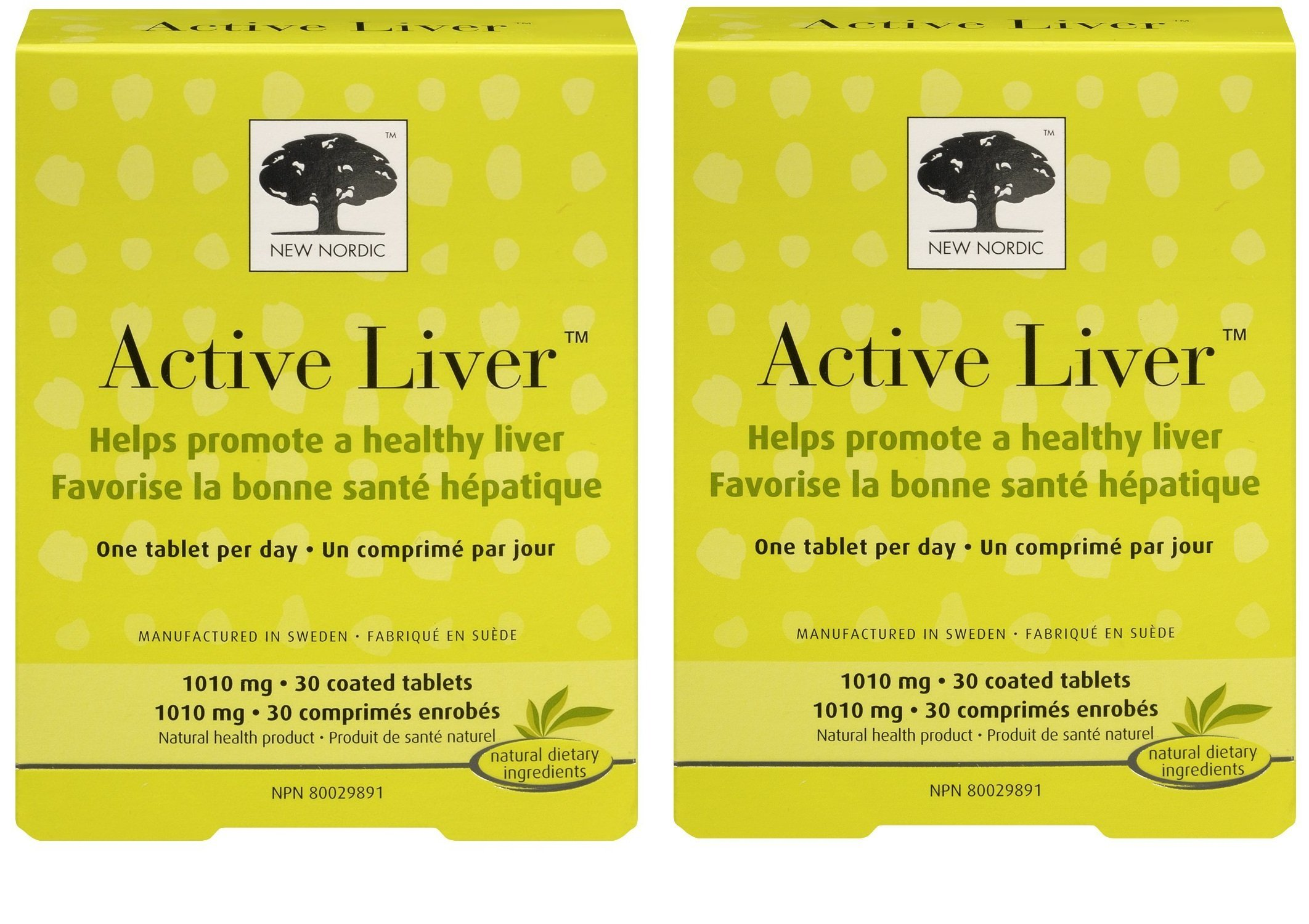 New Nordic Inc Active Liver (30 Tablets Pack of 2)
