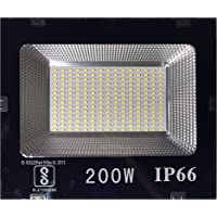 Urban Light 200W LED Phillips Flood Light, 12 X 10 X 2 Inches , White
