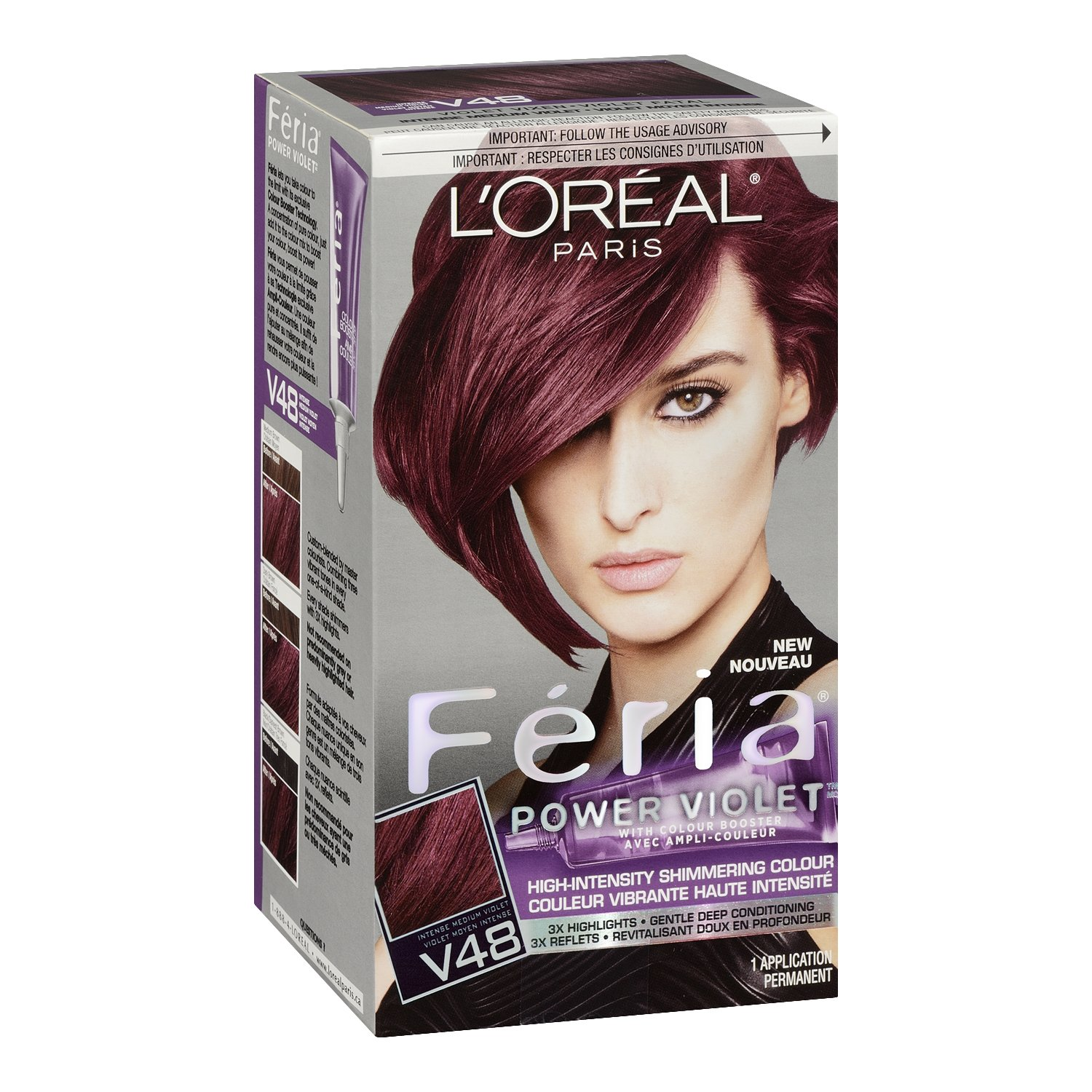 Loreal hair color quiz - Buy L Oreal Paris Feria Hair Color Power Violet Online At Low Prices In India Amazon In