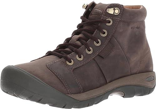 KEEN Mens Austin Mid WP Hiking Boots