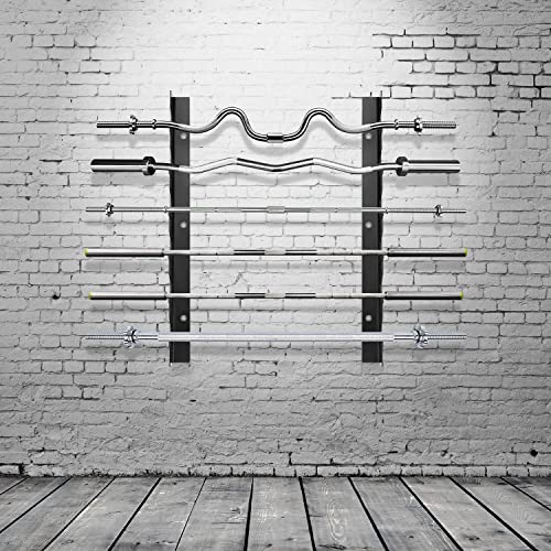 Ollieroo Olympic Barbell Rack Bar Storage