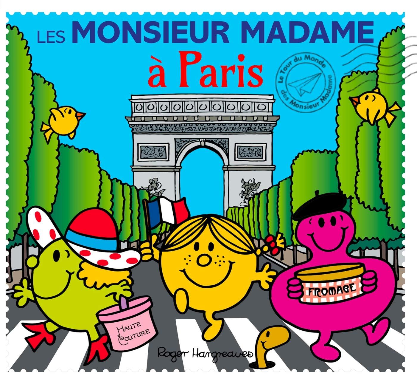 Les Monsieur Madame A Paris 9782012276321 Amazon Com Books