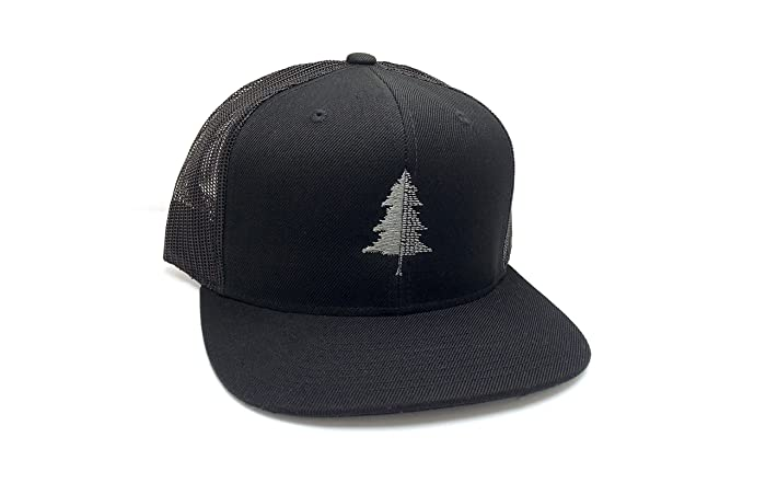 Amazon.com  Trucker Hat - Split Tree - Mesh   Wool Hat  Handmade 8a4518d682c