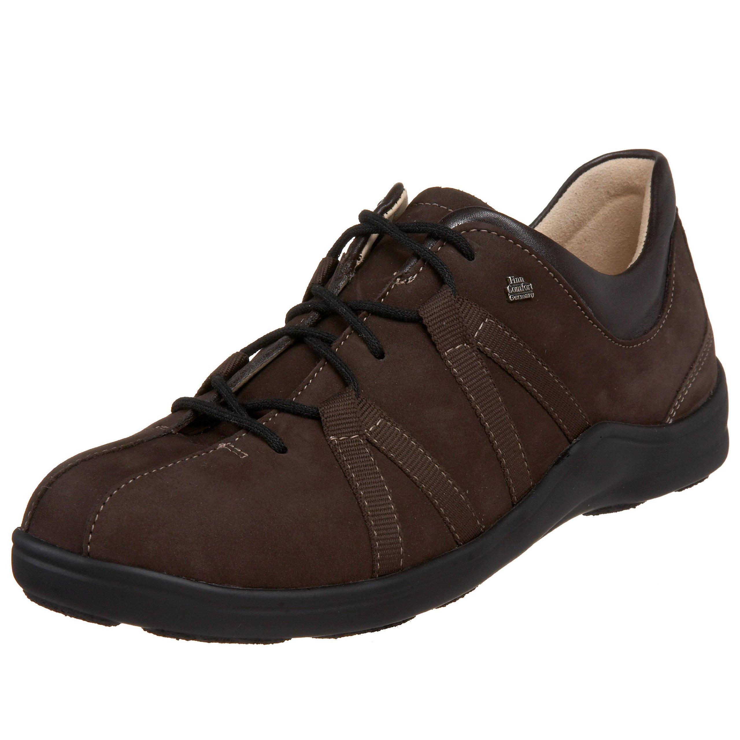 Finn Comfort Women's Chelsea Sneaker,Cigar Nubuck/Sprite,36 EU (US Women's 6 M)
