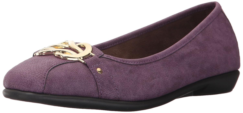 Aerosoles Women's High Bet Ballet Flat B06Y63L994 10 M US|Purple Snake