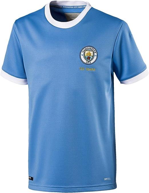 Fleecedecke Premier League MCFC Riesige Offizielle Manchester City 125 cm x 150 cm /& 100 /% Polyester-Fleece