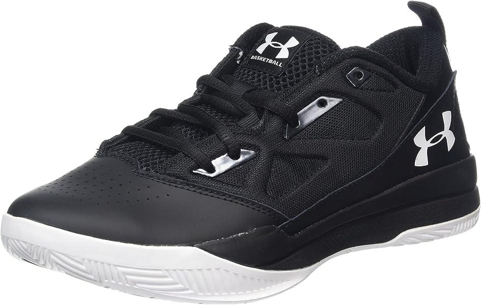 95df823cc6fa Under Armour Men s UA Jet Low Black Black White Sneaker 11.5 D (M