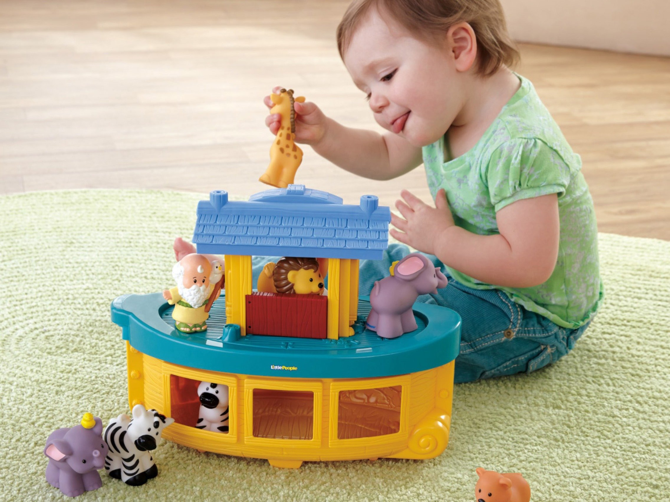 Fisher-Price Little People Noah's Ark by Fisher-Price (Image #9)