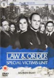 Law & Order: Special Victims Unit - Season 8 [5 DVDs] [UK Import]