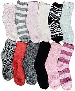 ee6dc16697e Casa Socks Chaussettes chaussons femme cocooning ultra confort - Modèle  photo selon arrivage (36 41