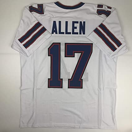 new product d6576 2ed04 Unsigned Josh Allen Buffalo White Custom Stitched Football Jersey Size  Men's XL New No Brands/Logos