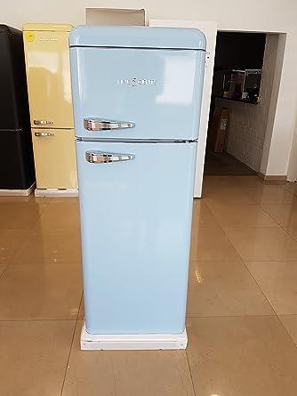Kühlschrank retro  FIVE5Cents G215 / Schaub Lorenz SL 210 / Kühlgefrierkombination ...