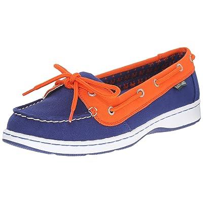 Eastland Women's Sunset MLB Mets Boat Shoe   Loafers & Slip-Ons