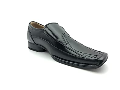 Majestic Men's 88212 Classic Squared Toe Loafers Dress Shoes10