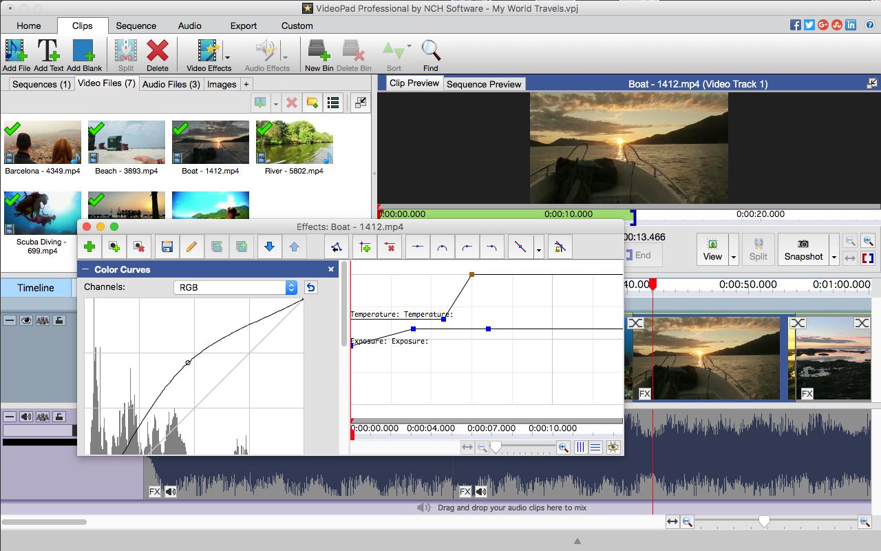 Amazon com: VideoPad Video Editor - Create Professional