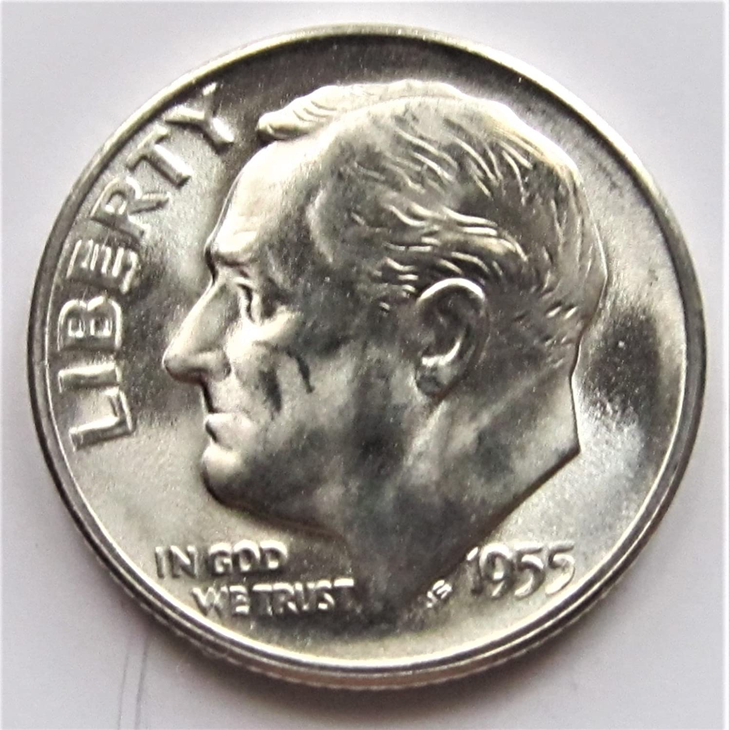 BRILLIANT UNCIRCULATED 1955-S Roosevelt Dime See Pictures for grade